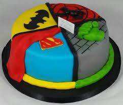 8 u2033 superhero cake u2013 aux délices de caroline