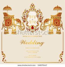 Indian Wedding Invite Indian Wedding Card Vector Download Free Vector Art Stock