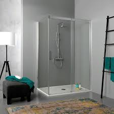 parete fissa doccia box doccia 80x140 con porta scorrevole e parete fissa