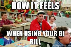 Billy Madison Meme - veteran survival guide g i billy madison