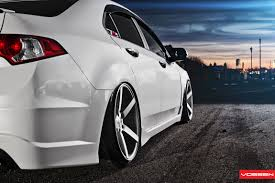acura stance tsx smashed on vossens stance pinterest cars