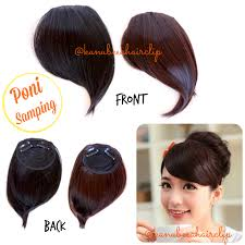 hair clip poni jual hair clip poni sing yf olshop