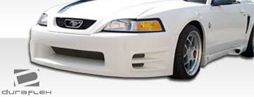 99 mustang bumper free shipping on duraflex 99 04 ford mustang kr s front bumper