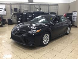 new 2018 toyota camry se 4 door car in sherwood park ca81579