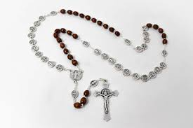 italian rosary direct from lourdes wooden rosary