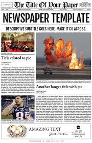 classroom newspaper template u2013 8 free word pdf ppt documents