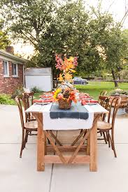 Outdoor Table Plans Free by Sawhorse Outdoor Table With Free Digital Plans