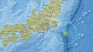 Washington State Earthquake Map by 6 3 Magnitude Earthquake Strikes Near Japan Abc7 Com