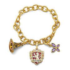 lumos gryffindor charm bracelet thinkgeek