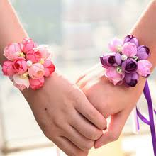 bridesmaid corsage compare prices on flower wedding prom corsage bridesmaid online