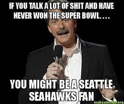 Seahawks Fan Meme - what 49er fans are saying about the seahawks