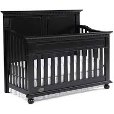 Black Convertible Crib by Dolce Babi Naples Full Panel Convertible Crib In Vintage Onyx