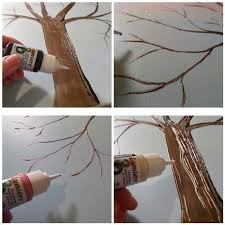 Home Decor Tree Diy Crafts For Home Decor Button Tree Crafts Work