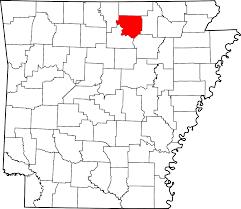 University Of Arkansas Map Izard County Arkansas Wikipedia