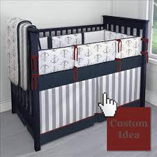 Nautical Crib Bedding Anchor Crib Bedding Nautical Anchors Carousel Designs