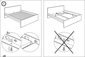 King Size Bed Frame Setup Best Mattress Decoration - Ikea bunk bed assembly instructions