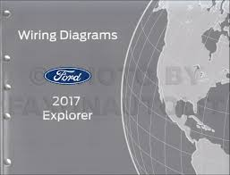 2017 ford explorer wiring diagram manual original