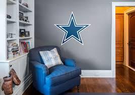 dallas cowboys logo wall decal shop fathead for dallas cowboys