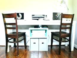 Home Office Desk For Two People S Office Desk With Hutch L Shaped