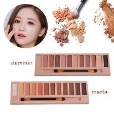 aliexpress com buy eyeshadow palette makeup waterproof 12 color