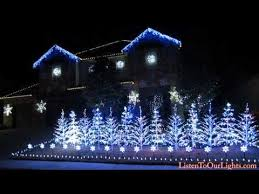 this family set their epic lights display to let it go