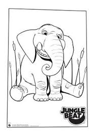free colouring pages ready print jungle beat website