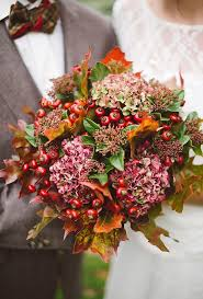 fall flowers for wedding seasonal bouquets for a fall wedding brides