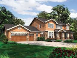 craftsman plan with bright natural light 69099am architectural