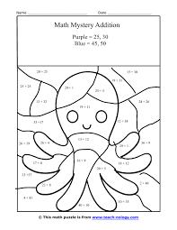 ideas 2 digit addition coloring worksheets free shishita