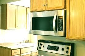 under cabinet microwave height microwave cabinet size over range microwave cabinet height over