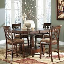 casual dining room tables high dining room chairs acme keelin 7pc counter height dining room