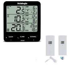 Wohnzimmerm El M Ax Sainlogic R Funk Thermometer Wetterstationen Mit 2 Funksensoren