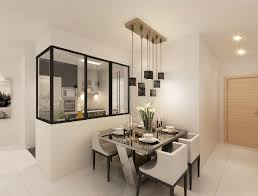 modern hdb interior design dining area u0026 kitchen dining zones