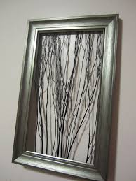 Inexpensive Wall Art by Twigs In An Old Frame Yep I Can Do That Diy Pinterest