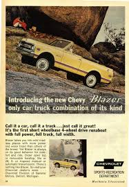 Oldride Classic Trucks Chevrolet - 1969 chevrolet blazer advertisement photo picture