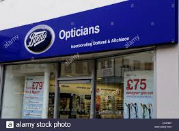 boots glasses uk boots opticians the strand uk stock photo