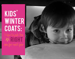 kids winter coats 3 tips to pick the right size for next year