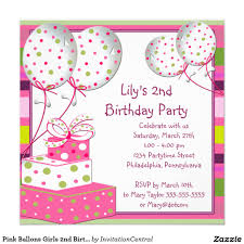 invitation card for a birthday party festival tech com