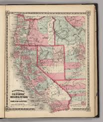 Map Of Northern Utah by California To Oregon Map California Map