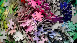 color spectrum puzzle test your perception of color with this 1000 piece puzzle of the