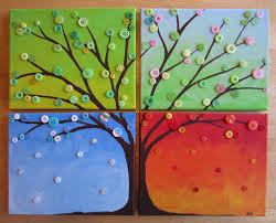 four seasons from busted button craft pinterest craft