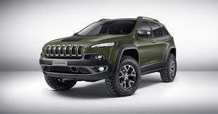 matte grey jeep 2015 jeep cherokee krawler conceptcarz com