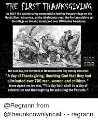 the thanksgiving in 1637 the colonist army surrounded a