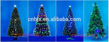 Christmas Tree With Optical Fiber Lights - 7ft 210cm led lighting optical fiber outdoor christmas tree 5