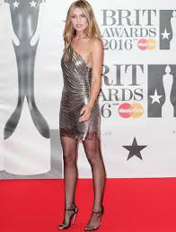 brit awards 2016 abbey clancy suffers nip slip at after party