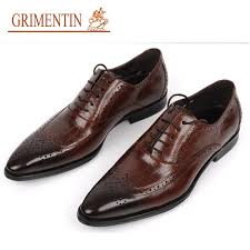 wedding shoes brands grimentin brand genuine leather mens wedding shoes crocodile style