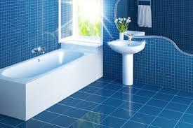 Blue Tile Bathroom Ideas - simple bathroom cleaning tips