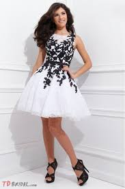 short prom dresses black and white boutique prom dresses