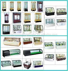 Vertical Bar Cabinet Vertical Cake Display Cabinet Refrigerated Pastry Equipment
