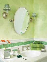 Sea Glass Bathroom Ideas Colors Green Paisley Bathroom With Green Glass Tile The Green Paisley